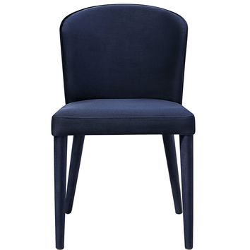 Metropolitan Navy Velvet Chair