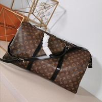 Kuyou Lv Louis Vuitton Gb29714 Monogram Travel All Collections  Keepall Bandouli¨¨re 50
