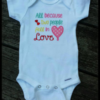 Baby Embroidered Onesuit, Baby Embroidered Bodysuit, Embroidered Onesuit, Embroidered Bodysuit, Embroidered Clothing, Christian Onesuit