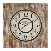 Distressed Wooden Monte Clock