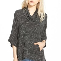 Women's Splendid Cowl Neck Pullover,
