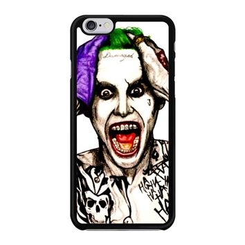 Joker Laugh From Suicide Squad  iPhone 6/6S Case