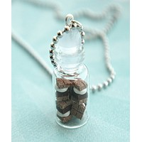 S'mores in a Jar Necklace