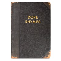 Dope Rhymes Dot Grid Journal