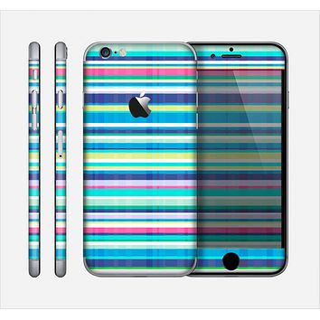 The Colorful Highlighted Vertical Stripes  Skin for the Apple iPhone 6