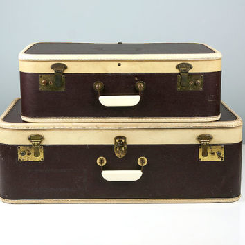 Best Vintage Leather Suitcase Products on Wanelo