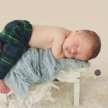 Baby Man Pants- Newborn photography props, newborn pants, boy props, newborn pajamas