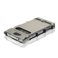 Columbia River Knife and Tool iNOX4SX iNoxCase 360 Stainless Steel iPhone 4 and 4S Case Brused Stainless