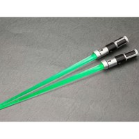 Star Wars Light Up Lightsaber Chopsticks - Yoda - Star Wars Other Miscellaneous