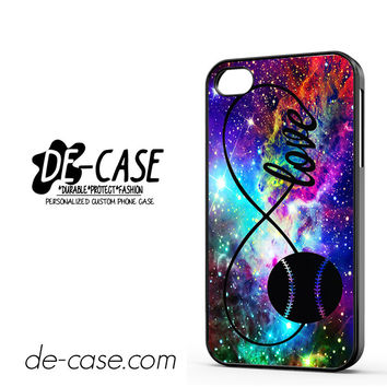 Infinity Love Softball Sports DEAL-5609 Apple Phonecase Cover For Iphone 4 / Iphone 4S