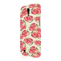 Empire Signature Series Slim-Fit Case for Samsung Galaxy Mega 6.3 - Retail Packaging - Vintage Red Roses
