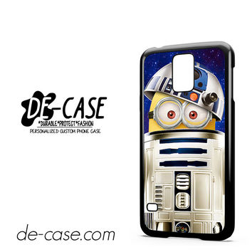 Despicable Me Minions Inside Star Wars R2d2 For Samsung Galaxy S5 Case Phone Case Gift Present