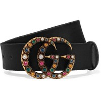 Gucci Colorful Diamond Women Men Belt B-KWKWM Rainbow Belt