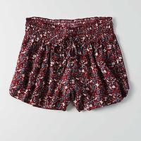 AEO Runner Short , Burgundy