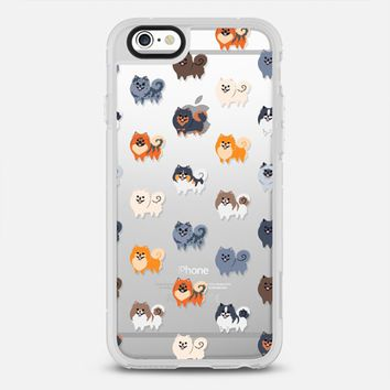 Pomeranians (Clear) iPhone 6 case by Lili Chin | Casetify