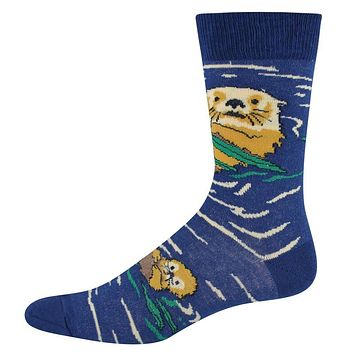 Otters in Water Socks Small