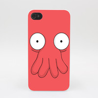 219GS Futurama Doctor Zoidberg Hard White Case Cover for iPhone 4 4s 5 5s 5c SE 6 6s Plus Print