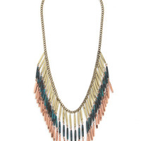 ModCloth Boho Alloy Mate Necklace