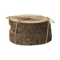 Hickory Coaster Set in Holiday Shop by Recipient Gifts for Him at Terrain