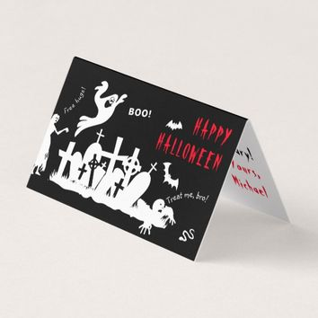 Happy Halloween one-of-a-kind funny Card