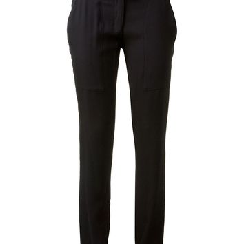 Anthony Vaccarello Belted Slim Trouser