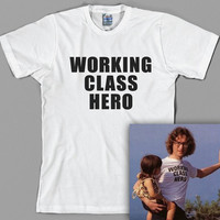 John Lennon T Shirt  - working class hero, the beatles, paul mccartney, yoko ono, imagine - Graphic Tee, All Sizes & Colors
