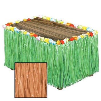 Artificial Grass Table Skirting - Natural