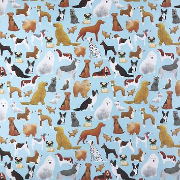 Any-Occassion Gift Wrap Wrapping Paper, Show Dogs (8 Rolls 5ft x 30in)