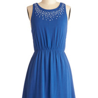 ModCloth Mid-length Sleeveless A-line Bedazzle Me Dress