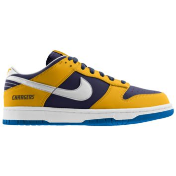 Nike Dunk Low (NFL San Diego Chargers) iD Men's Shoe