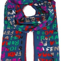 Fendi 'signature' Scarf - - Farfetch.com