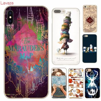 Lavaza harry potter dream magic Hard Case for iphone 4 4s 5c 5s 5 SE 6 6s 6/7/8 plus X for iphone 7 case