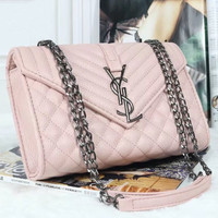 YSL Women Shopping Leather Chain Satchel Shoulder Bag Crossbody