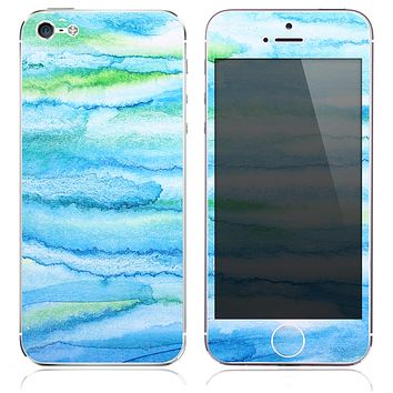 The Abstract Oil Painting Strokes Skin for the iPhone 3, 4-4s, 5-5s or 5c
