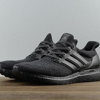 Adidas ultra boost ub 3.0 Men's Running Trainers Shoes Black
