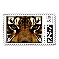 Eyes of a Tiger Stamp