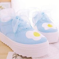 EGG SHOES (LIGHT BLUE) from Storeunic