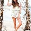 Riri Romper Flower Press Print by Show Me Your Mumu