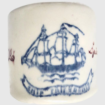 Old Spice 1941 Hull Pottery Shaving Mug