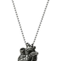 Femme Metale Anatomical Heart Necklace