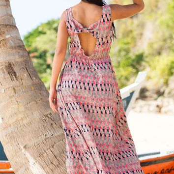 Shabby Apple Tamarind Cover-Up Maxi Dress