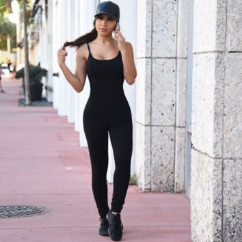 Fashion Sexy Sling Jumpsuits