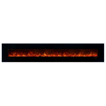 "Modern Flames 144"" Built in/Wall Mounted Electric Fireplace (AL144CLX2)"