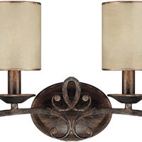 "0-022371>31""w Reserve 4-Light Vanity Rustic"