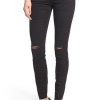 Madewell 'Skinny Skinny' Destroyed Jeans (Trent Wash) (Long) | Nordstrom