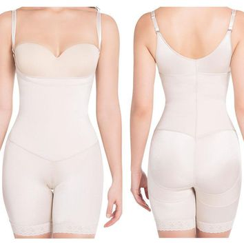 1108 Extra-Strength Compression Mid-Thigh Shaper
