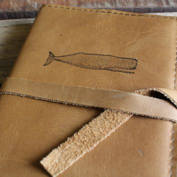 Sperm Whale Leather Journal