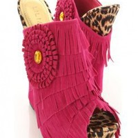 Fuchsia Faux Suede Fringe Tiered Peep Toe Slip On Wedges @ Amiclubwear Wedges Shoes Store:Wedge Shoes,Wedge Boots,Wedge Heels,Wedge Sandals,Dress Shoes,Summer Shoes,Spring Shoes,Prom Shoes,Women's Wedge Shoes,Wedge Platforms Shoes,floral wedges,Fashion We