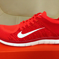 NFR4015 - Nike Free 4.0 Flyknit (Red)