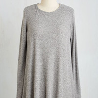 Long Long Sleeve Got Your Basics Covered Tunic